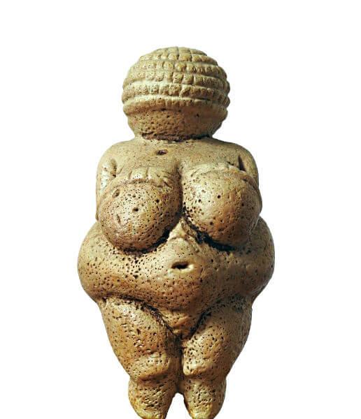 Vênus de Willendorf, uma das obras de arte mais conhecidas da Pré-História.