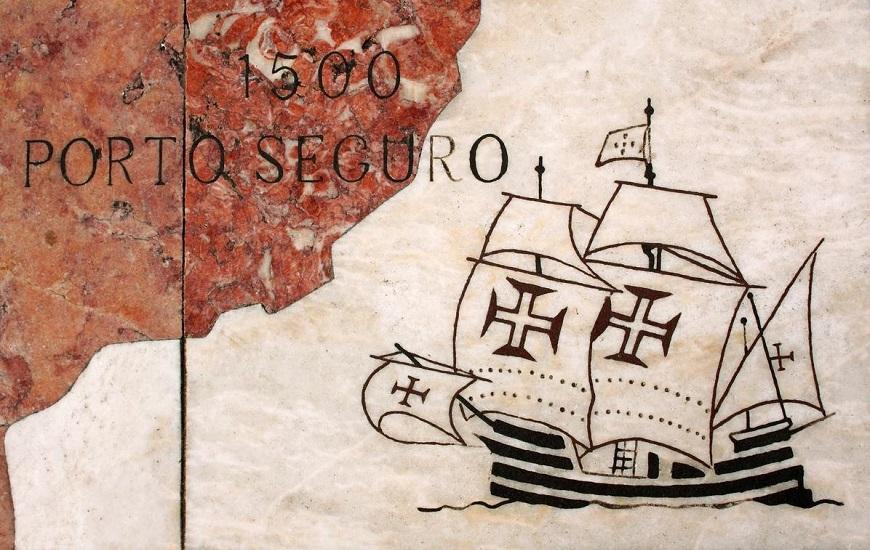 A chegada dos portugueses em 1500 motivou outros exploradores como Hans Staden a virem ao Brasil em exploração.