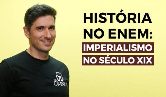 Videoaula sobre imperialismo no século XIX