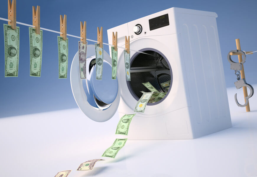 A lavagem de dinheiro é uma modalidade de uso de laranjas realizada por pessoa jurídica.