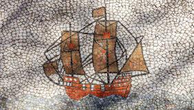 Navio português em mosaico