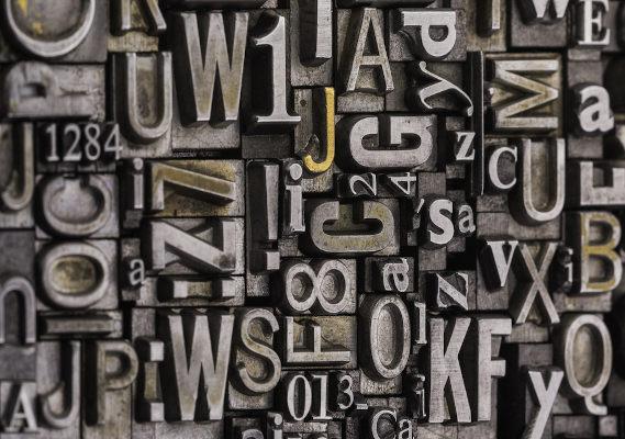 Tipografias metálicas