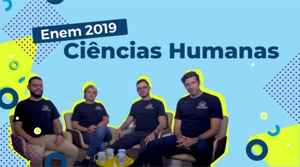 Videoaula sobre Como estudar Ciências Humanas para o Enem