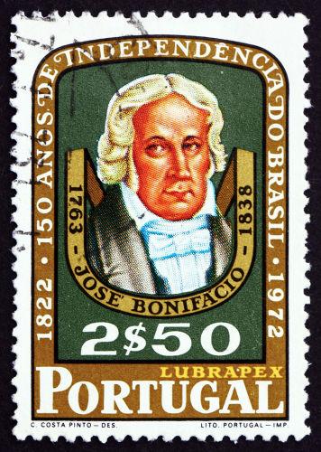 Uma das figuras mais importantes para o processo de independência do Brasil foi de José Bonifácio.[3]