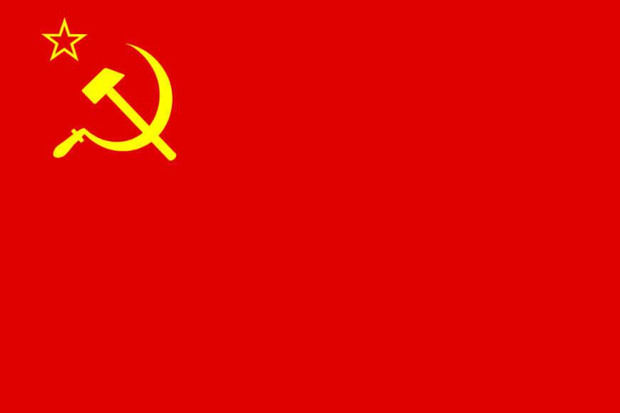 A União Soviética foi formada em 1922, e sua dissolução aconteceu em 1991.