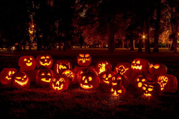 A abóbora se tornou um símbolo do Halloween a partir do século XIX.