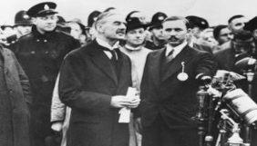 Neville Chamberlain, primeiro-ministro do Reino Unido