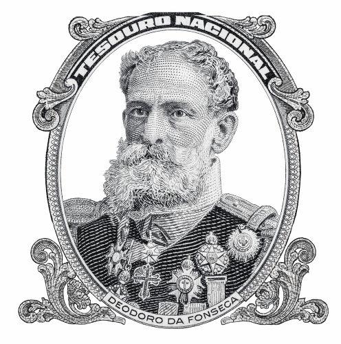 Em 1889, o marechal Deodoro da Fonseca foi nomeado presidente provisório do Brasil.