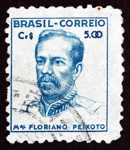 Floriano Peixoto foi presidente do Brasil entre 1891 e 1894.[1]
