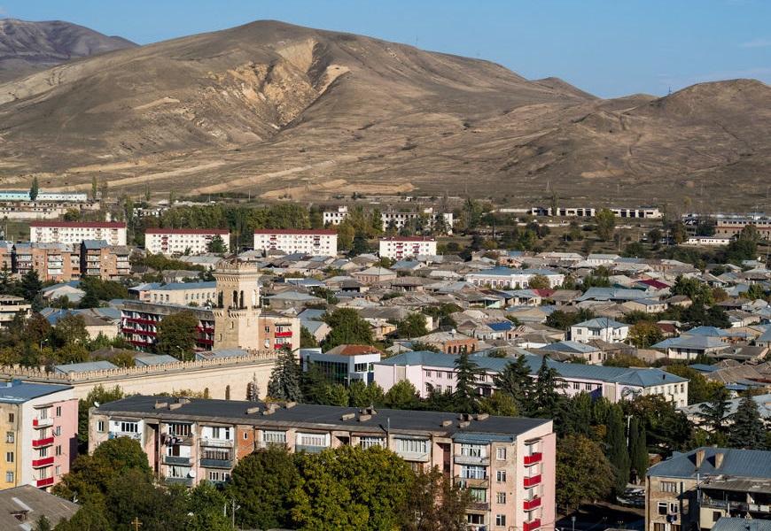 Gori, cidade localizada na Geórgia, onde Stalin nasceu e passou parte de sua vida.