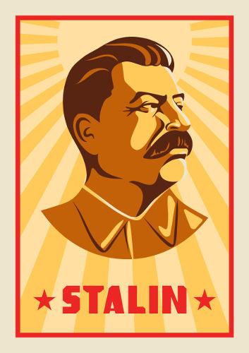 Stalin iniciou sua vida revolucionária no final do século XIX e tornou-se governante soviético a partir de 1927.[1]
