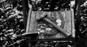 Foice e martelo abandonados