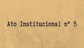 Ato Institucional n.º 5