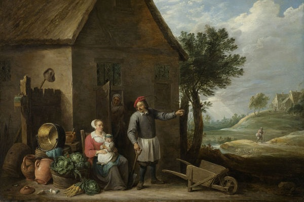Durante a Alta Idade Média, a servidão dos camponeses estabeleceu-se como principal modalidade de trabalho.