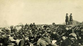 Soldados na Guerra Civil Americana