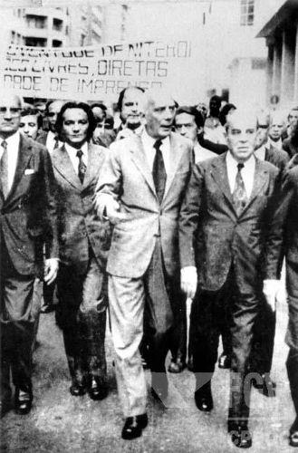Ao longo da ditadura, diversas manifestações de oposição aconteceram, apesar da repressão.[1]
