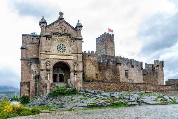 Os castelos eram um dos grandes símbolos do feudalismo.