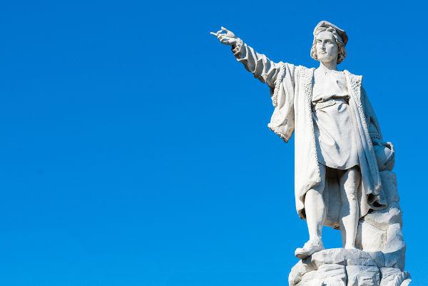 Cristóvão Colombo realizou quatro viagens para a América e nunca acreditou ter chegado a um continente desconhecido.