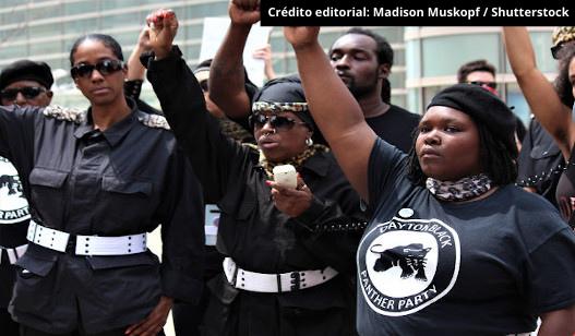 Manifestação do Panteras negras