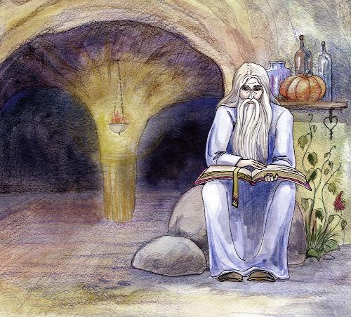 Os druidas eram o principal grupo da sociedade celta e acumulavam funções jurídicas, filosóficas e religiosas.