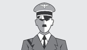 desenho representando Adolf Hitler
