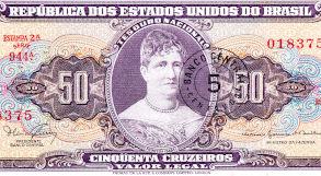 Princesa Isabel estampada na nota de dinheiro