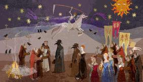 pintura representando a peste negra