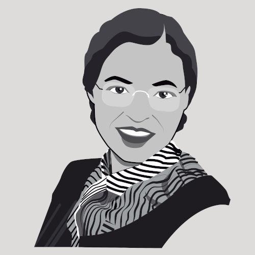 Rosa Parks foi um dos grandes nomes do ativismo antirracista na história dos Estados Unidos.[1]