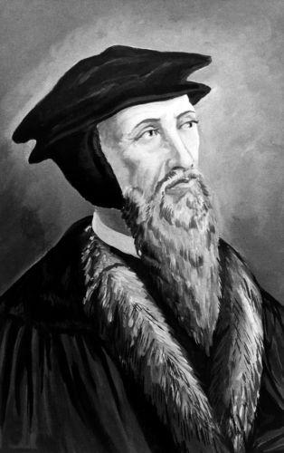 João Calvino foi um protestante francês que pregou sua doutrina em Genebra, na Suíça.