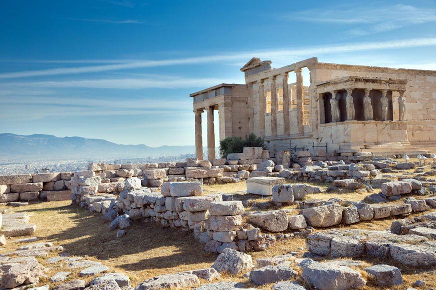 Atenas foi uma das grandes pólis da Grécia Antiga, ficando conhecida como o berço da democracia.