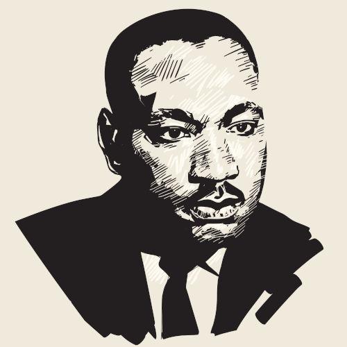 O pastor batista Martin Luther King Junior foi um dos líderes da luta antirracista nos Estados Unidos durante as décadas de 1950 e 1960.[1]