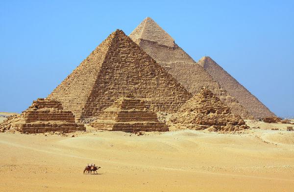 As Pirâmides de Gizé foram um dos grandes legados deixados pela civilização egípcia.