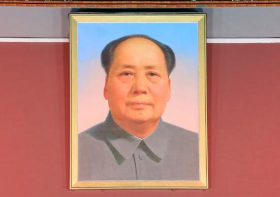 foto do mao tsé-tung