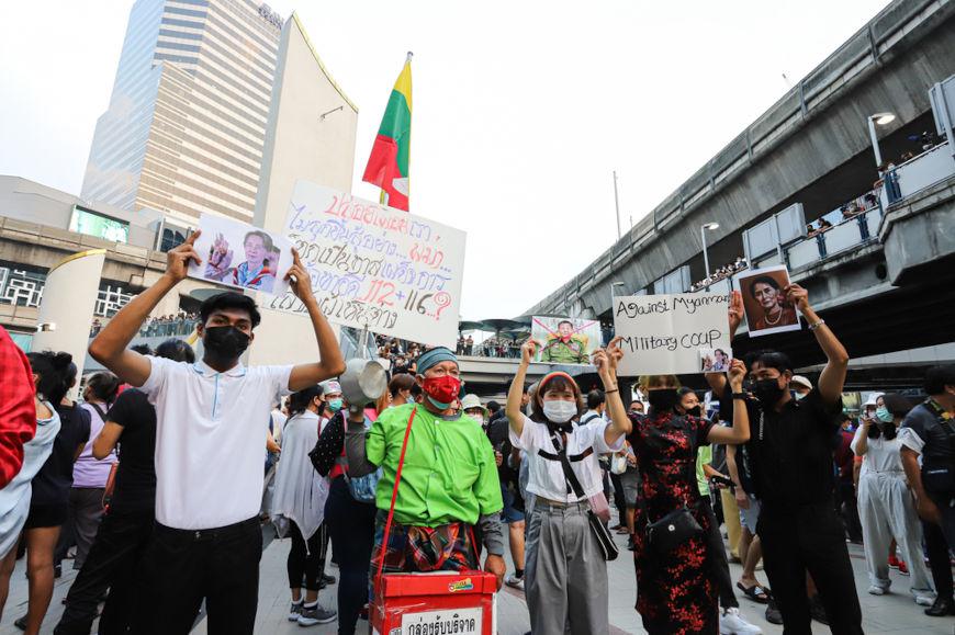 O Mianmar é um país asiático localizado no sudoeste desse continente, fazendo fronteira com China, Índia, Bangladesh, Tailândia e Laos.