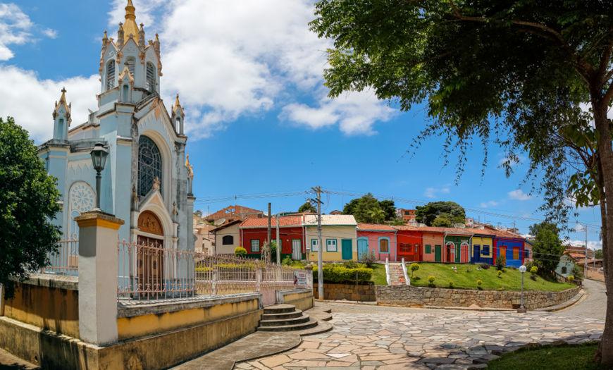 São Luiz do Paraitinga, a cidade onde Oswaldo Cruz nasceu, em 1872.