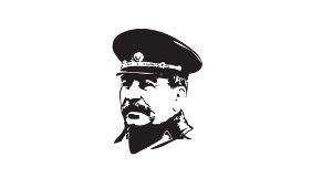 desenho representando stalin