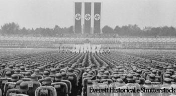 Comício nazista
