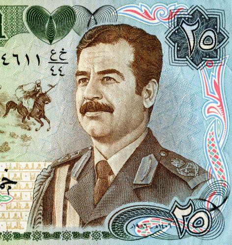 Saddam Hussein foi uma das figuras mais marcantes da história recente do Iraque.