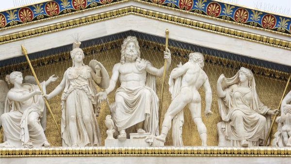 Os deuses gregos eram parte importante da religião dos gregos antigos e poderiam ter sentimentos bem comuns aos humanos, como a inveja. [1]