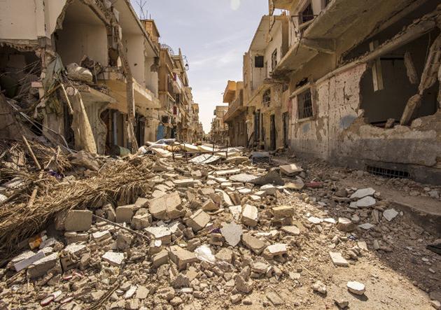 Destroços Guerra Civil Síria
