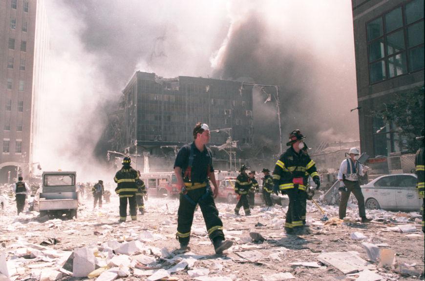 Os atentados de 11 de setembro de 2001 foram um dos fatos mais marcantes do governo de George W. Bush.[3]