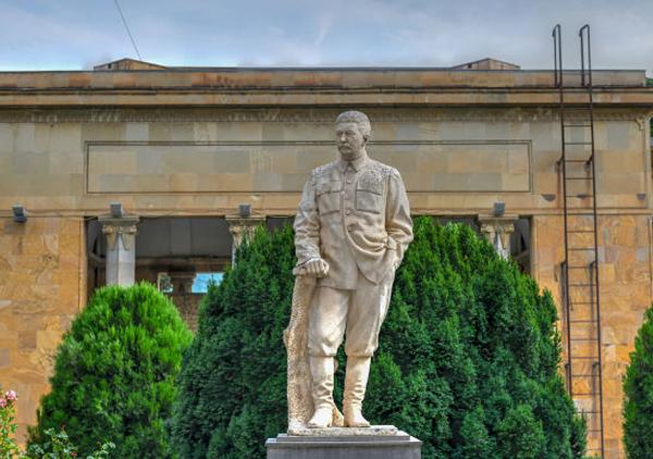Josef Stalin estátua