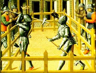 Duelo entre cavaleiros: uma prática típica do período medieval