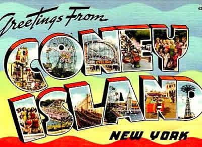 Coney Island é um dos grandes símbolos da história do entretenimento