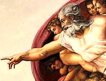 A obra de Michelangelo convencionou a imagem divina para muitos cristãos