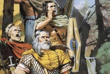 A pilhagem era um das mais importantes atividades econômicas entre os germânicos