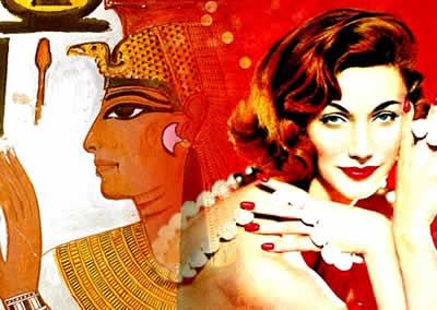 O uso do esmalte já era uma preocupação presente no cotidiano das rainhas egípcias