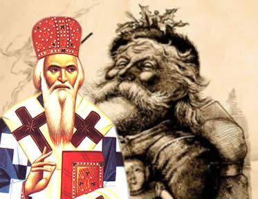 O significado do Papai Noel foi sendo elaborado desde a Antiguidade