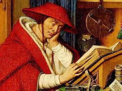 Na Alta Idade Média, os livros eram mais acessíveis aos integrantes da Igreja