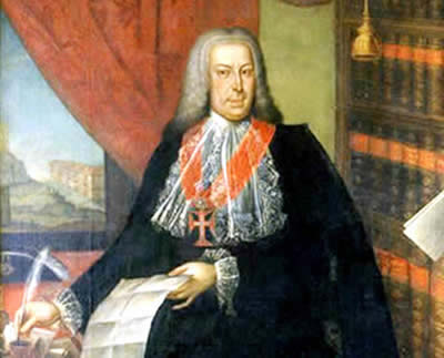 O Marquês de Pombal empreendeu diversas reformas modernizantes no Estado Português